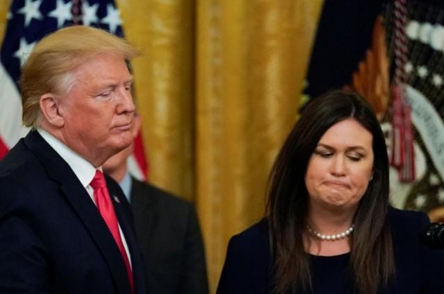 Người phát ngôn Nhà Trắng đột ngột thông báo từ chức - Ảnh 1.