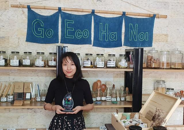 Gặp cô gái Hà Nội xuất hiện trong phóng sự của BBC về những người phụ nữ truyền cảm hứng cho phong trào zero waste châu Á - Ảnh 2.