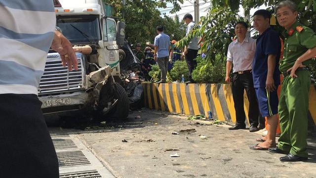 Tai nạn kinh hoàng ở Tây Ninh: Tài xế và 4 người trong một gia đình tử vong - Ảnh 6.