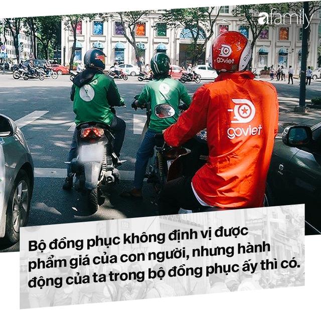 Lời miệt thị CEO Nhật ném vào tài xế công nghệ Việt và những bộ đồng phục định giá con người - Ảnh 13.