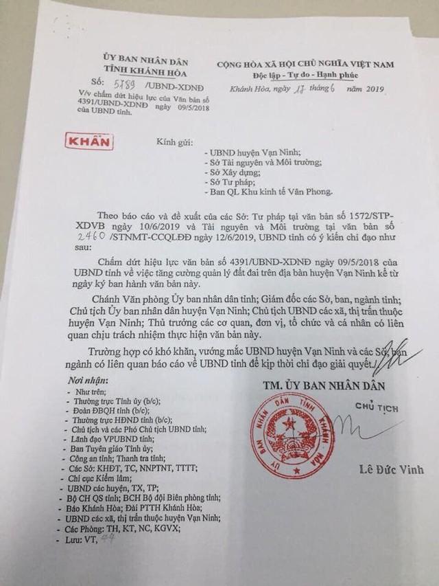 Khánh Hòa cho chuyển nhượng đất trở lại tại Bắc Vân Phong - Ảnh 1.