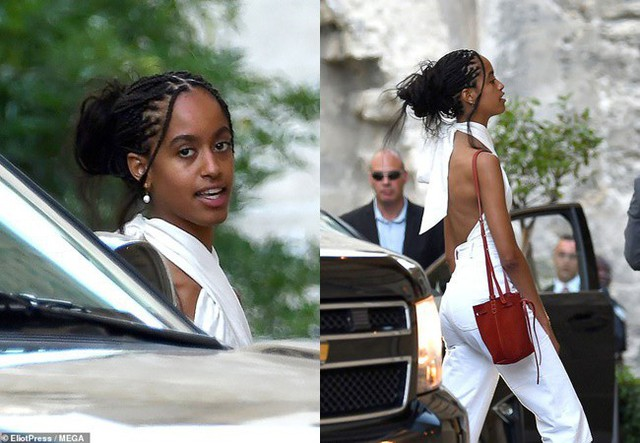Gia đình cựu Tổng thống Barack Obama bất ngờ tái xuất với vẻ ngoài khác lạ, nhìn sang con gái út của ông ai cũng phải ngỡ ngàng - Ảnh 4.