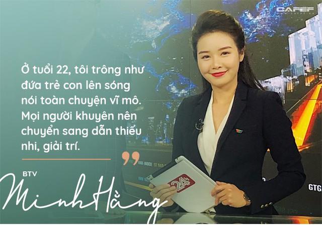 """BTV Minh Hằng của Bản tin Tài chính: """"Khuôn mặt trẻ con từng hại tôi tơi tả, 3 tháng lên hình đã bị cho xuống"""" - Ảnh 2."""