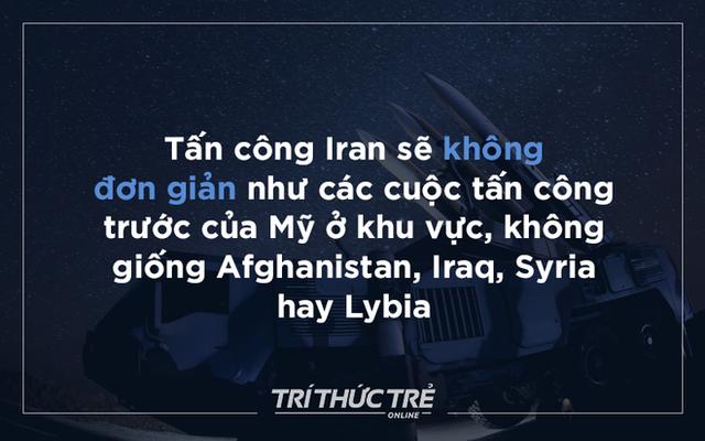 Mỹ và Iran bên bờ miệng hố chiến tranh: Logic của leo thang - Ảnh 1.
