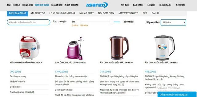 Asanzo đang bán những gì tại Việt Nam? - Ảnh 2.