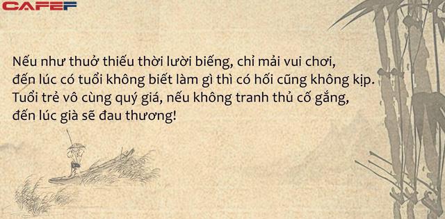 Mỗi ngày đều lười biếng không chịu tích lũy thêm kiến thức mới, đến lúc cần dùng có hối hận cũng không kịp: Tể tướng Bắc Tống Khấu Chuẩn bàn về sáu điều hối hận của đời người - Ảnh 1.