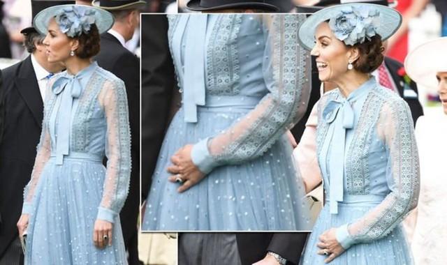 Báo Anh chỉ ra bằng chứng Công nương Kate đã ngầm thông báo việc mang thai lần 4 chỉ bằng một hành động, khiến người hâm mộ sốt xình xịch - Ảnh 2.