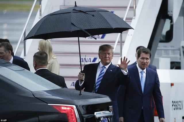 Tổng thống Trump, Chủ tịch Tập đội mưa tới Nhật Bản dự G-20, sẵn sàng cho các cuộc gặp cân não - Ảnh 2.