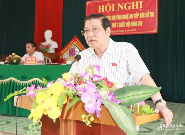Trưởng Ban Nội chính Trung ương Phan Đình Trạc: Lò vẫn cháy, củi tươi cũng cháy, củi ướt cũng cháy - Ảnh 2.