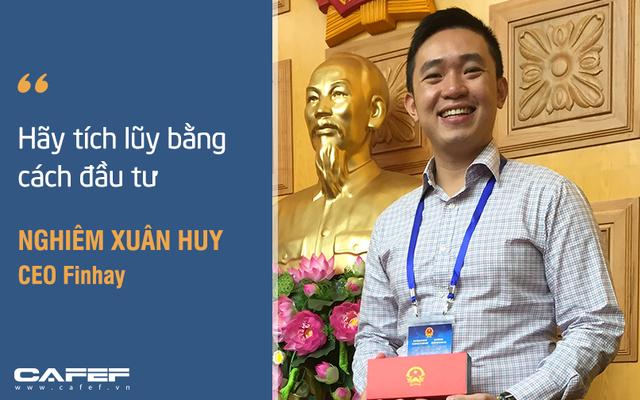 CEO 9X nhận vốn triệu đô với tham vọng thay đổi thói quen tiết kiệm của người Việt: Đầu tư chỉ từ 50.000 đồng, dùng robot tư vấn - Ảnh 3.