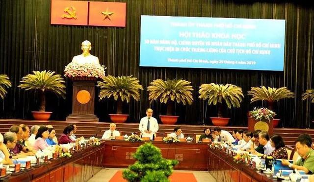 Ông Lê Thanh Hải: Còn một số cán bộ, đảng viên sa sút về đạo đức - Ảnh 1.