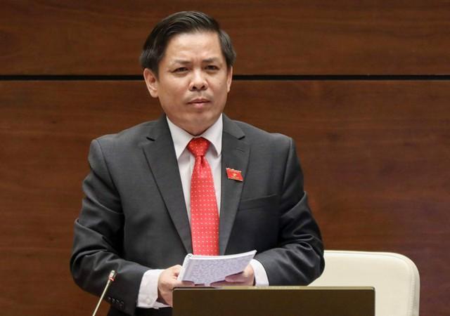 Hôm nay, Quốc hội chất vấn Bộ trưởng Bộ GTVT Nguyễn Văn Thể - Ảnh 2.