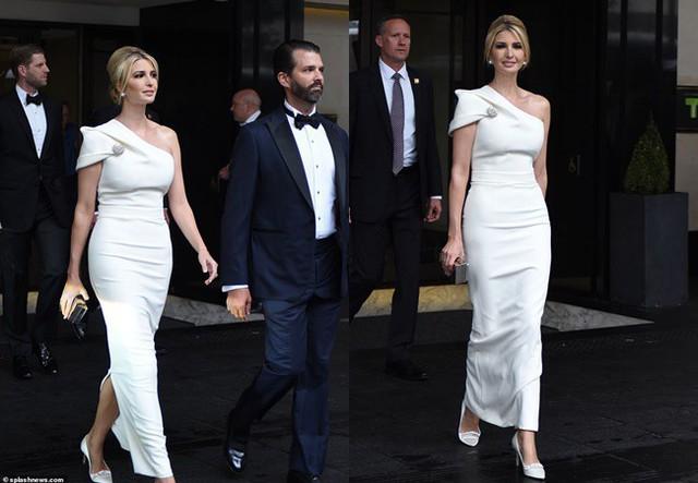 Ngày thứ 3 tại Anh, Ivanka Trump tiếp tục làm chao đảo giới truyền thông, lấn át cả gia đình Hoàng gia bằng màn thể hiện xuất chúng - Ảnh 4.