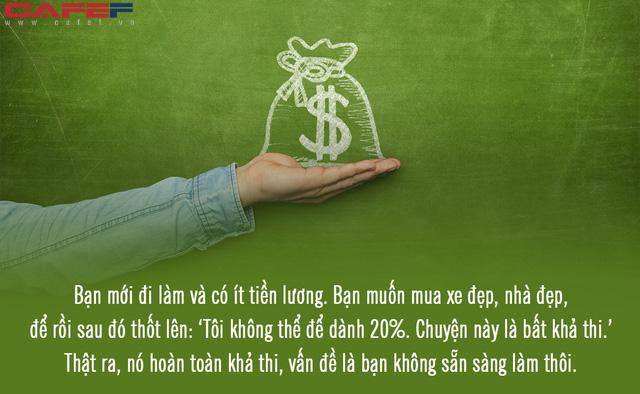 Cuộc sống đắt đỏ, lương bèo bọt lại nợ chồng chất, biết bao giờ mới giàu lên: Chìa khóa đổi đời nằm trong 3 con số vàng này! - Ảnh 3.