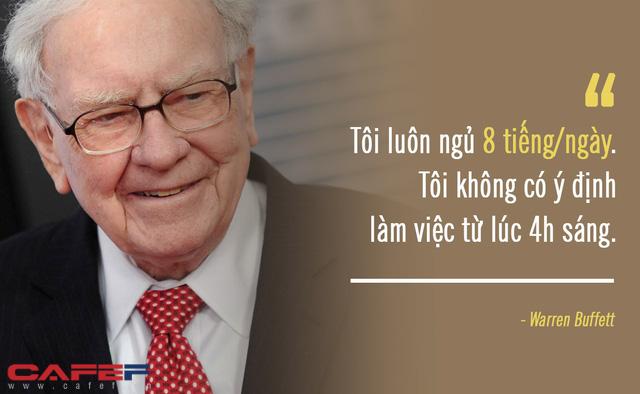 Dậy sớm từ 4h sáng như CEO Apple, Pepsi... cũng chẳng khiến bạn tài giỏi như họ: Đến Warren Buffett còn làm theo nguyên tắc hàng đầu này, sao bạn có thể quên? - Ảnh 4.