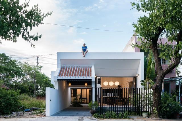 [Ảnh] Mẫu nhà đơn giản, dễ xây dựng nhưng vẫn hiện đại, đẹp mắt - Ảnh 1.