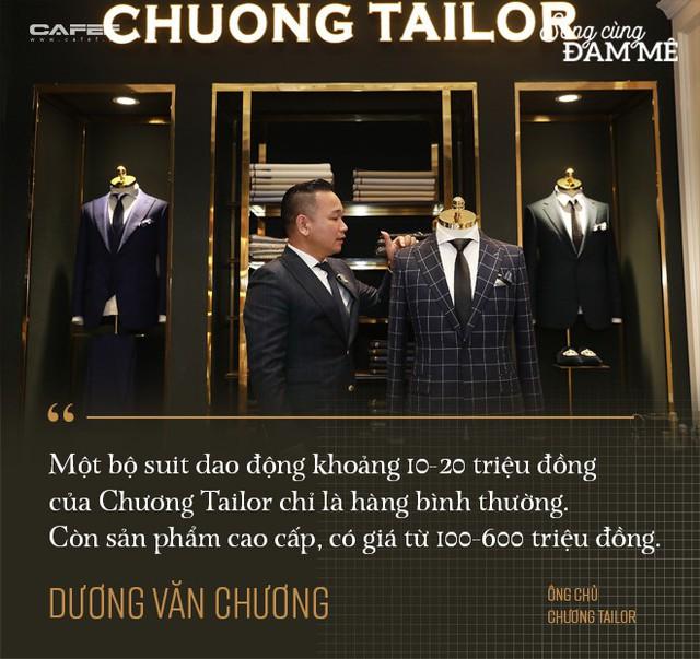 """Từ nghệ nhân cắt tay 52 bộ suit/ngày đến ông chủ Chương Tailor: """"Nếu chỉ vì vải tốt, sẽ chẳng sản phẩm nào của tôi có giá 600 triệu đồng"""" - Ảnh 5."""