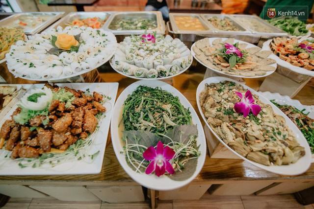Quán chay từ thiện độc nhất vô nhị ở Sài Gòn: Ăn tuỳ bụng trả tiền… tuỳ tâm - Ảnh 6.