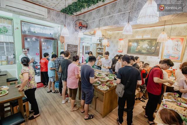 Quán chay từ thiện độc nhất vô nhị ở Sài Gòn: Ăn tuỳ bụng trả tiền… tuỳ tâm - Ảnh 19.