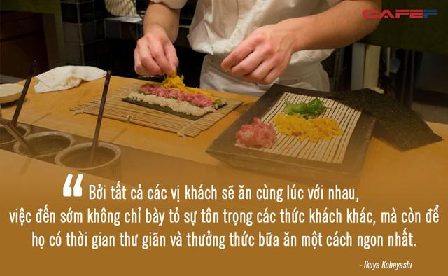 Ăn sushi kiểu omakase tại nhà hàng 3 sao Michelin mà quên những nguyên tắc này, coi như ném 450 USD đi: Đã đến, xin hãy đặt trọn niềm tin nơi đầu bếp! - Ảnh 3.