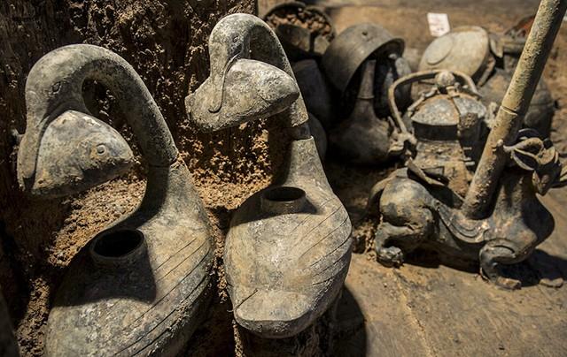Khai quật mộ cổ 2000 năm của hoàng đế tại vị 27 ngày, giới khảo cổ sửng sốt hoàn toàn - Ảnh 7.