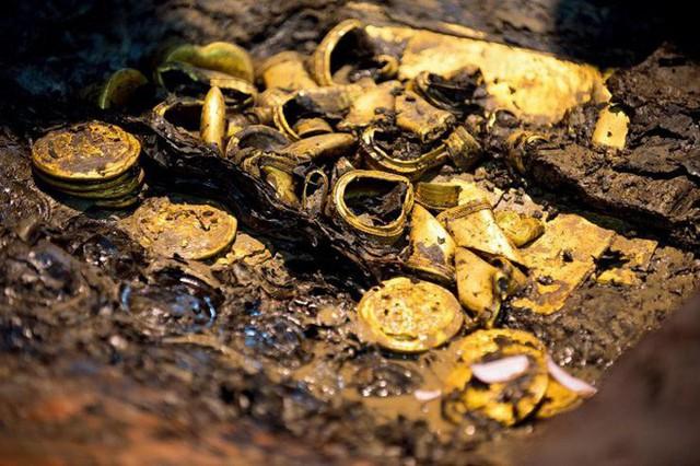 Khai quật mộ cổ 2000 năm của hoàng đế tại vị 27 ngày, giới khảo cổ sửng sốt hoàn toàn - Ảnh 5.