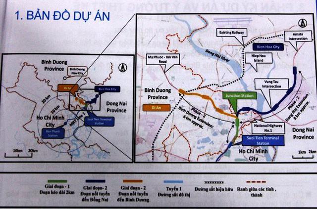 Tuyến metro số 1 Bến Thành - Suối Tiên sẽ được nối dài đến Đồng Nai và Bình Dương như thế nào? - Ảnh 1.