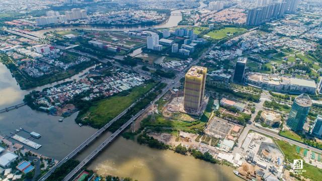 Cận cảnh dự án căn hộ cao cấp tại Phú Mỹ Hưng của Quốc Cường Gia Lai vừa bị buộc ngưng huy động vốn - Ảnh 1.