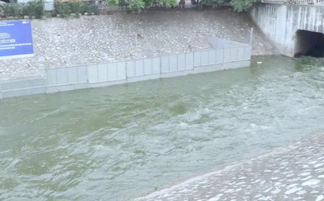 Nước Hồ Tây cuốn trôi kết quả thử nghiệm ở sông Tô Lịch: Không thể nói một việc - Ảnh 1.