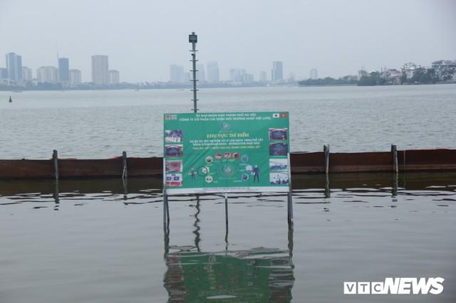 Hồ Tây tiếp tục xả nước ra sông Tô Lịch, chuyên gia Nhật Bản sẽ có biện pháp gì? - Ảnh 2.