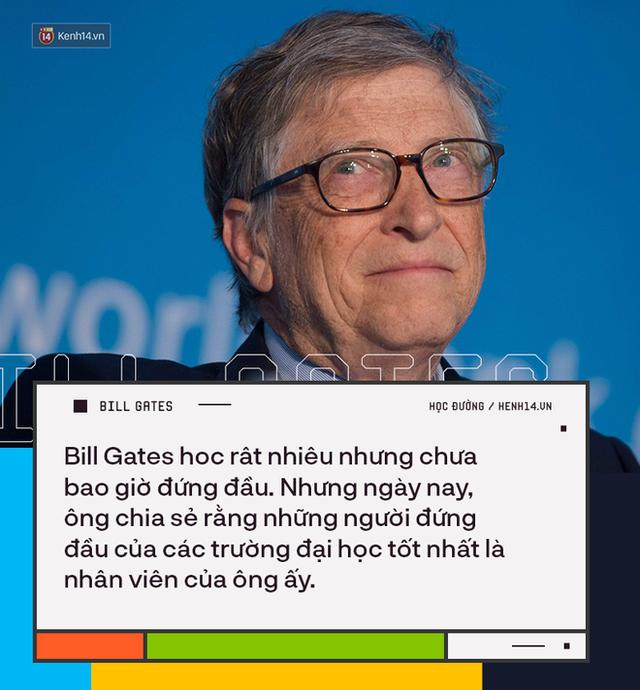 Người trẻ đua nhau bỏ học Đại học để thành tỷ phú như Bill Gates nhưng có 8 sự thật về việc học của ông không phải ai cũng biết - Ảnh 7.