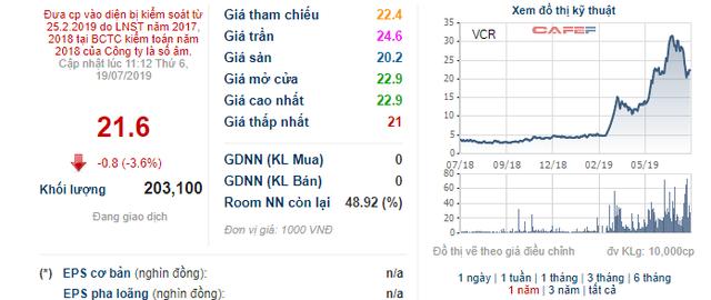 Vinaconex – ITC (VCR): Quý 2 tiếp tục lỗ, giá cổ phiếu vẫn tăng gấp 5 lần kể từ đầu năm - Ảnh 1.