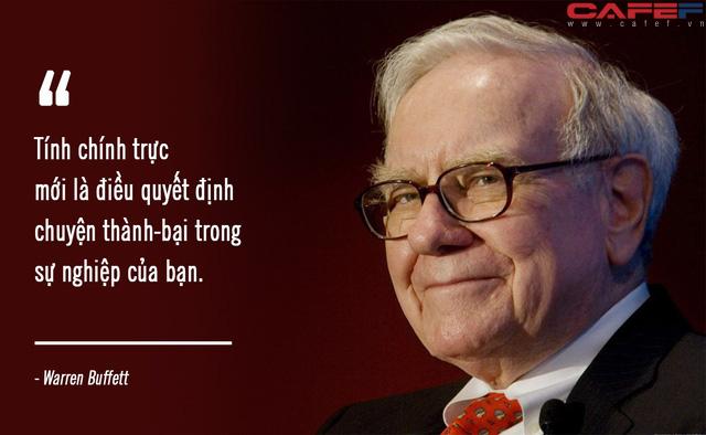 Warren Buffett dặn dò sinh viên: IQ cao cũng chẳng bằng sở hữu phẩm chất này, và đó cũng là điều khác biệt khiến tôi thuê bạn! - Ảnh 2.