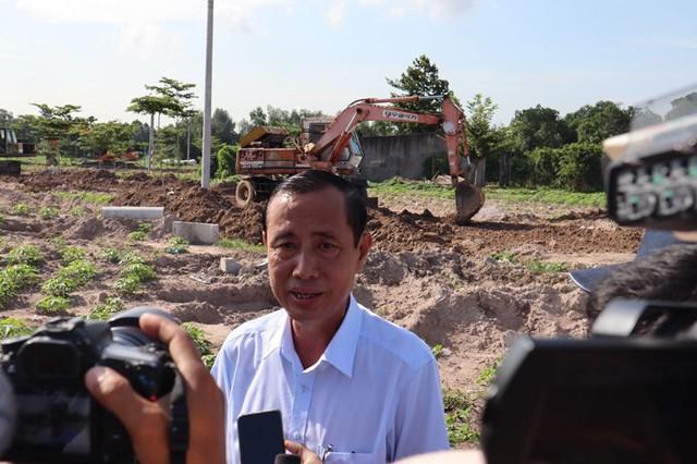 Cưỡng chế đường xây dựng trái phép trên đất nông nghiệp - Ảnh 2.