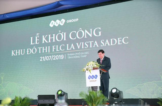 Khởi công khu đô thị cao cấp FLC La Vista Sadec, Tập đoàn FLC chính thức Nam tiến - Ảnh 2.