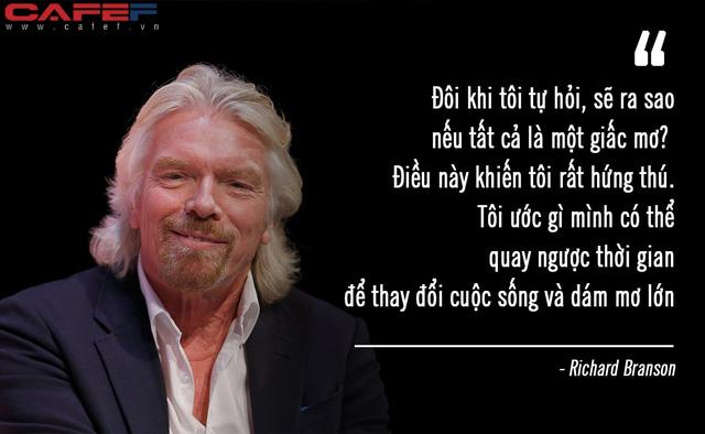 Nếu quay ngược thời gian, tỷ phú Richard Branson muốn lặp đi lặp lại điều này để thành công hơn: Rất nhiều người vì không làm mà hối tiếc! - Ảnh 1.