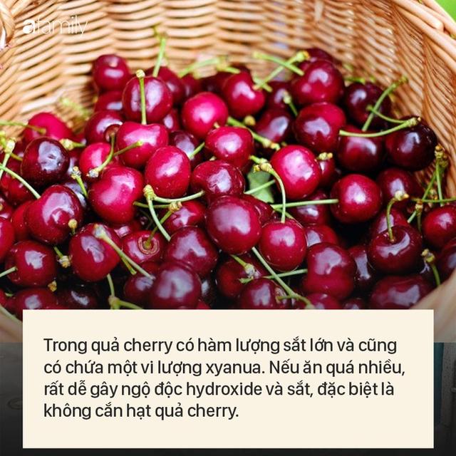 """Cherry """"đắt xắt ra miếng"""", nếu biết hết tác dụng vi diệu của quả này dám cá nhiều người sẽ không tiếc tiền mua ăn - Ảnh 6."""