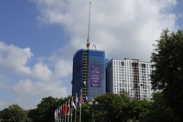 Dự án khách sạn dát vàng thứ hai của đại gia Đường bia hoàn thành cất nóc - Ảnh 1.