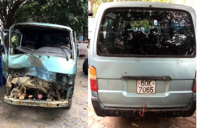 Xe gỗ lậu tông văng xe CSGT ở Gia Lai, tài xế khai đạp nhầm chân ga - Ảnh 2.