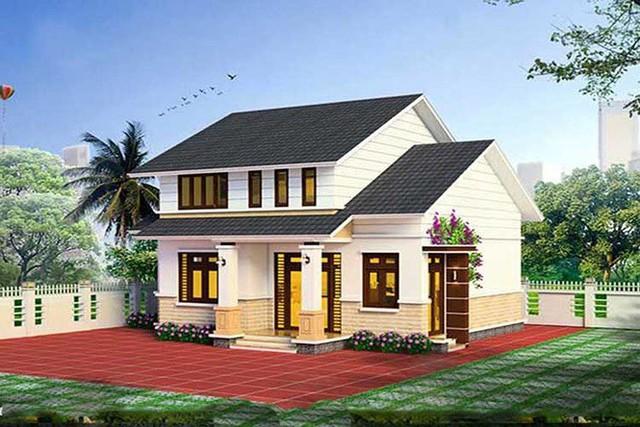 Mẫu nhà cấp 4 gác lửng mái Thái đẹp miễn chê chỉ 200- 300 triệu đồng - Ảnh 4.