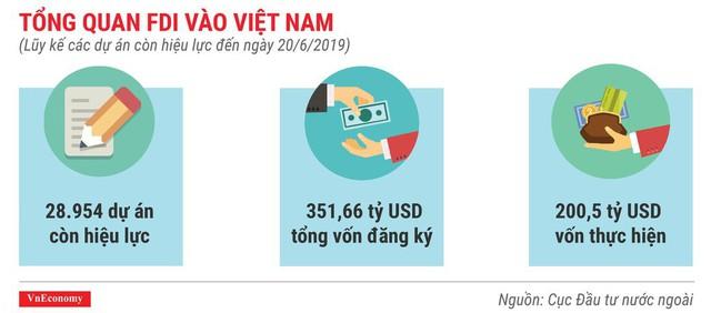 Những điểm nhấn về thu hút đầu tư nước ngoài trong 6 tháng 2019 - Ảnh 6.