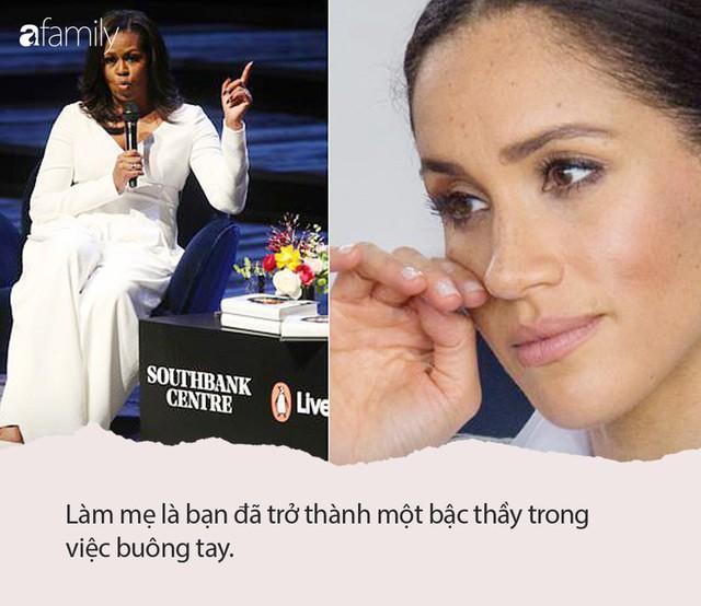 Nàng dâu hoàng gia Meghan lặng người khi nghe lời khuyên nuôi dạy con thấm thía của bà Michelle Obama  - Ảnh 1.