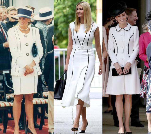 Ivanka Trump mặc đẹp và thần thái ngút ngàn hóa ra là nhờ học hỏi theo công nương Diana và Kate Middleton? - Ảnh 4.