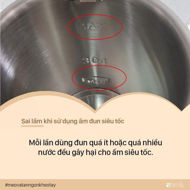 7 sai lầm khi sử dụng ấm siêu tốc có thể khiến ổ điện nổ tung, dễ gây hại đến cả nhà - Ảnh 5.