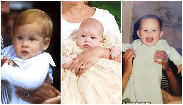 Cuối cùng, vợ chồng Meghan Markle cũng công khai ảnh rõ mặt con trai sau lễ rửa tội, người hâm mộ bất ngờ về vẻ ngoài của bé Archie - Ảnh 4.