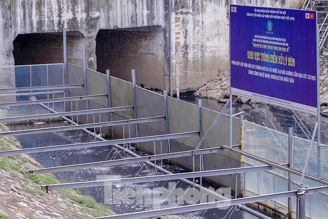 Chất lượng nước sông Tô Lịch biến chuyển ra sao khi dùng bảo bối của Nhật? - Ảnh 1.