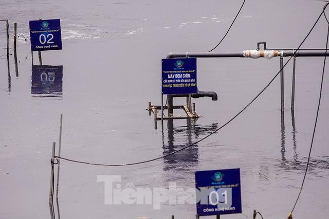 Chất lượng nước sông Tô Lịch biến chuyển ra sao khi dùng bảo bối của Nhật? - Ảnh 8.