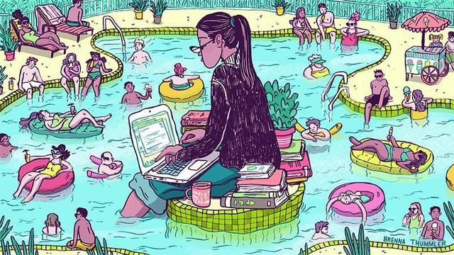 Cắm mặt cả ngày ở văn phòng chưa chắc thể hiện mình chăm chỉ, sao không về nhà đúng giờ để có 4 lợi ích này - Ảnh 1.