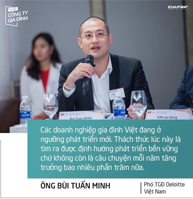 Phó TGĐ Deloitte Việt Nam: Doanh nghiệp gia đình muốn lớn mạnh cần có thêm người tài không phải thành viên trong nhà! - Ảnh 2.