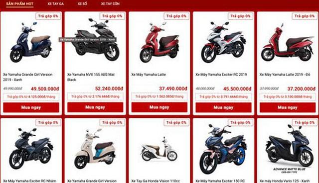 Nở rộ bán xe máy trên mạng  - Ảnh 2.